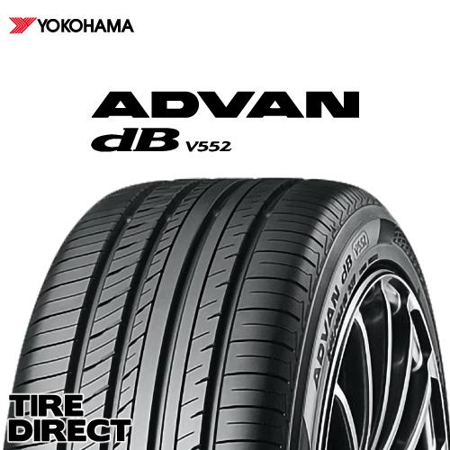 新品 ヨコハマ ADVAN dB V552 155/65R14 75HYOKOHAMA アドバン デシベル V552 155/65-14 夏タイヤ ※ホイールは付属いたしません。
