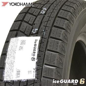 【取付対象】【2018年製】 195/50R15 ヨコハマ アイスガードシックス iG60 新品 スタッドレスタイヤ 1本 YOKOHAMA iceGUARD6 【2】