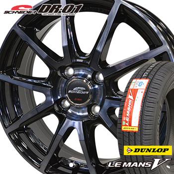 最高品質の 【取付対象】215/40R18 ダンロップ ルマン5 サマータイヤ ホイールセット 4本 DUNLOP LEMAN5 LM705 低燃費タイヤ シュナイダー DR-01 18-7.0J, mamaruria 52e3b323