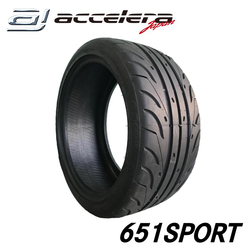 265/35R18 (TREAD100)/アクセレラ 651SPORT/265-35-18インチ/新品/サマータイヤ/夏タイヤ 送料無料!