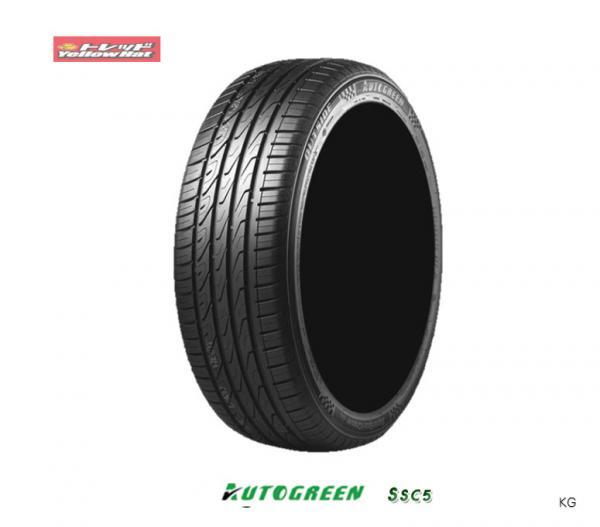 【取付対象】 新品タイヤ・4本、送料無料、オートグリーン SuperSportChaser-SSC5、 225/35R20 90Y