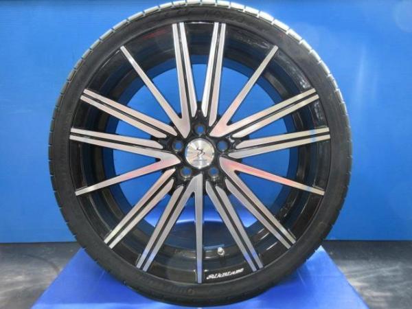【送料無料】新品セット 1セット限定品 シルクブレイズ ヴォルツァ 特選輸入タイヤ 225/35R19 プリウス ウィッシュ CT 等に
