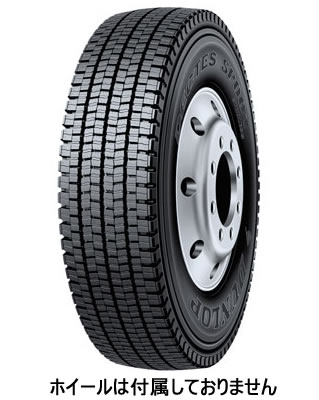 【3/30(月) 16:59までポイント5倍!! 】スタッドレス タイヤ 大型トラック用 タイヤ 10R22.5 14PR ダンロップ SP001