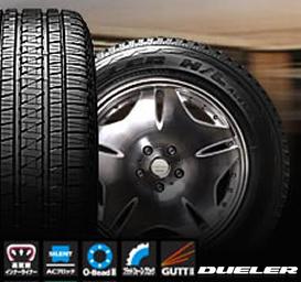 乗用車用タイヤ P285/45R22 ブリヂストン DUELER H/L ALENZA