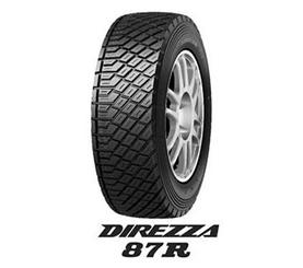 87R 【新品】【乗用車用タイヤ】185/65R14 DIREZZA ダンロップ