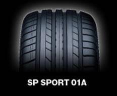 【3/30(月) 16:59までポイント5倍!! 】乗用車用タイヤ 225/45ZR17 ダンロップ SP SPORT 01A Volkswagen パサート/シロッコ 専用タイヤ