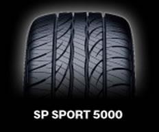 【3/30(月) 16:59までポイント5倍!! 】乗用車用タイヤ 275/55R17 ダンロップ SP SPORT 5000 ベンツ MLクラス 専用タイヤ