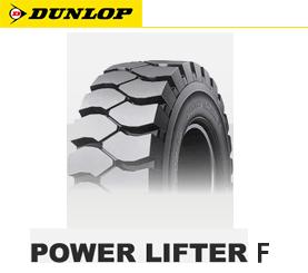 【新品】【フォークリフト用タイヤ】6.00-9 10PR ダンロップ POWER LIFTER F (ニューマチックタイヤ)