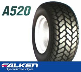 【芝刈り機用タイヤ チューブレスタイプ】23×105-12 4PR ファルケン A520