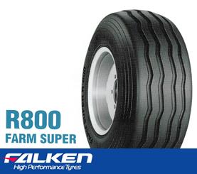 【新品】【ファームトレーラ用タイヤ 】115/80-15 10PR ファルケン R800