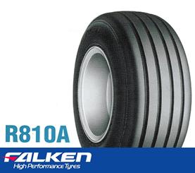 【ファームトレーラ用タイヤ】16×650-8 6PR ファルケン R810A