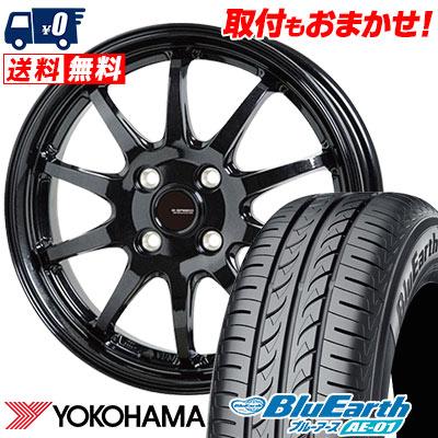 175/60R16 82H YOKOHAMA ヨコハマ BluEarth AE-01 ブルーアース AE01 G.speed G-04 Gスピード G-04 サマータイヤホイール4本セット