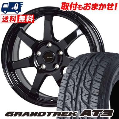 245/70R16 107S DUNLOP ダンロップ GRANDTREK AT3 グラントレック AT3 G.speed G-03 Gスピード G-03 サマータイヤホイール4本セット
