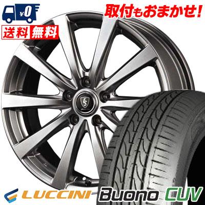 235/55R18 104V LUCCINI ルッチーニ Buono CUV ヴォーノ CUV Euro Speed G10 ユーロスピード G10 サマータイヤホイール4本セット