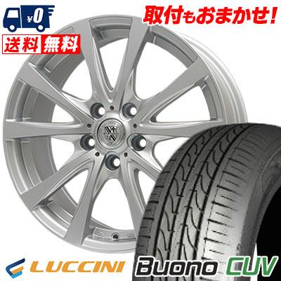 225/65R17 102V LUCCINI ルッチーニ Buono CUV ヴォーノ CUV TRG-SILBAHN TRG シルバーン サマータイヤホイール4本セット