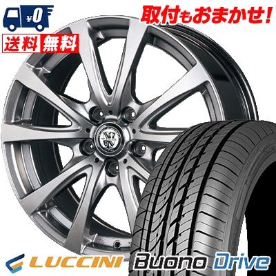 205/55R16 91V LUCCINI ルッチーニ Buono Drive ヴォーノ ドライヴ TRG-BAHN TRG バーン サマータイヤホイール4本セット