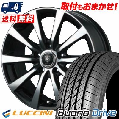 215/65R15 100H XL LUCCINI ルッチーニ Buono Drive ヴォーノ ドライヴ EUROSPEED BL10 ユーロスピード BL10 サマータイヤホイール4本セット