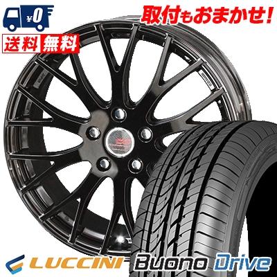 215/65R15 100H XL LUCCINI ルッチーニ Buono Drive ヴォーノ ドライヴ ENKEI CREATIVE DIRECTION CDM2 エンケイ クリエイティブ ディレクション CD-M2 サマータイヤホイール4本セット