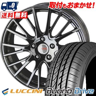 215/65R15 100H XL LUCCINI ルッチーニ Buono Drive ヴォーノ ドライヴ ENKEI CREATIVE DIRECTION CDS1 エンケイ クリエイティブ ディレクション CD-S1 サマータイヤホイール4本セット