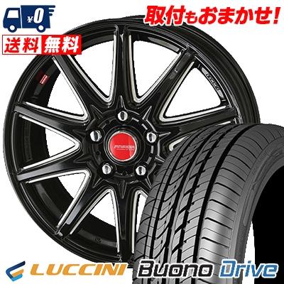 205/65R15 95H LUCCINI ルッチーニ Buono Drive ヴォーノ ドライヴ RIVAZZA CORSE リヴァッツァ コルセ サマータイヤホイール4本セット