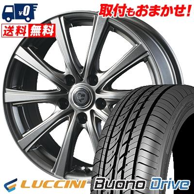 205/65R16 95H LUCCINI ルッチーニ Buono Drive ヴォーノ ドライヴ CLAIRE DG10 クレール DG10 サマータイヤホイール4本セット