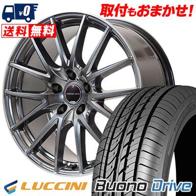 205/65R16 95H LUCCINI ルッチーニ Buono Drive ヴォーノ ドライヴ VERTEC ONE Eins.1 ヴァーテック ワン アインス ワン サマータイヤホイール4本セット