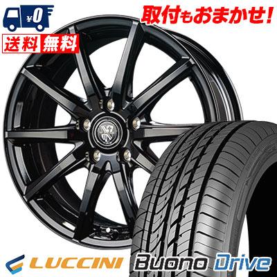 205/55R16 91V LUCCINI ルッチーニ Buono Drive ヴォーノ ドライヴ TRG-GB10 TRG GB10 サマータイヤホイール4本セット