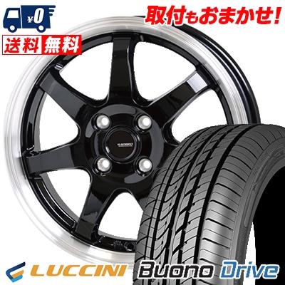 185 ヴォーノ/55R15 82V G.speed LUCCINI ルッチーニ Buono Drive Drive ヴォーノ ドライヴ G.speed P-03 ジースピード P-03 サマータイヤホイール4本セット, WONDERCUBE:eba8e1a0 --- economiadigital.org.br