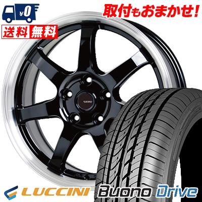 215/60R16 99H XL LUCCINI ルッチーニ Buono Drive ヴォーノ ドライヴ G.speed P-03 ジースピード P-03 サマータイヤホイール4本セット