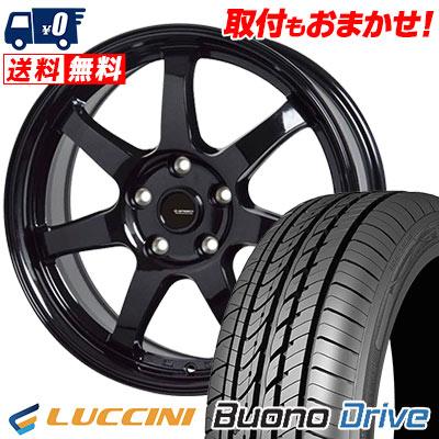 205/65R15 95H LUCCINI ルッチーニ Buono Drive ヴォーノ ドライヴ G.speed G-03 Gスピード G-03 サマータイヤホイール4本セット