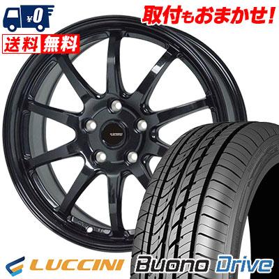 215/60R16 99H XL LUCCINI ルッチーニ Buono Drive ヴォーノ ドライヴ G.speed G-04 Gスピード G-04 サマータイヤホイール4本セット