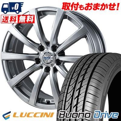 205/65R16 95H LUCCINI ルッチーニ Buono Drive ヴォーノ ドライヴ ZACK JP-110 ザック JP110 サマータイヤホイール4本セット