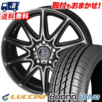 205/65R15 LUCCINI ルッチーニ Buono Drive ヴォーノ ドライヴ SMACK LAVINE スマック ラヴィーネ サマータイヤホイール4本セット
