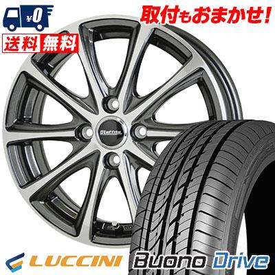 205/50R16 87V LUCCINI ルッチーニ Buono Drive ヴォーノ ドライヴ Laffite LE-04 ラフィット LE-04 サマータイヤホイール4本セット