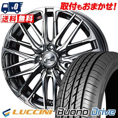 205/50R16 87V LUCCINI ルッチーニ Buono Drive ヴォーノ ドライヴ WEDS LEONIS SK ウェッズ レオニス SK サマータイヤホイール4本セット