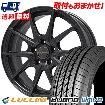 205/65R16 LUCCINI ルッチーニ Buono Drive ヴォーノ ドライヴ LeyBahn WGS レイバーン WGS サマータイヤホイール4本セット