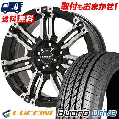 215/60R16 99H XL LUCCINI ルッチーニ Buono Drive ヴォーノ ドライヴ B-MUD X Bマッド エックス サマータイヤホイール4本セット