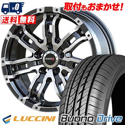 205/55R16 91V LUCCINI ルッチーニ Buono Drive ヴォーノ ドライヴ B-MUD Z Bマッド ゼット サマータイヤホイール4本セット