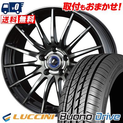 205/65R16 95H LUCCINI ルッチーニ Buono Drive ヴォーノ ドライヴ weds LEONIS NAVIA 05 ウエッズ レオニス ナヴィア 05 サマータイヤホイール4本セット