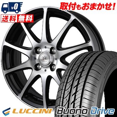 205/50R16 87V LUCCINI ルッチーニ Buono Drive ヴォーノ ドライヴ BADX LOXARNY SPORT RS-10 バドックス ロクサーニ スポーツ RS-10 サマータイヤホイール4本セット