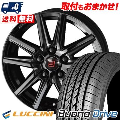 215/65R15 100H XL LUCCINI ルッチーニ Buono Drive ヴォーノ ドライヴ SEIN SS BLACK EDITION ザイン エスエス ブラックエディション サマータイヤホイール4本セット