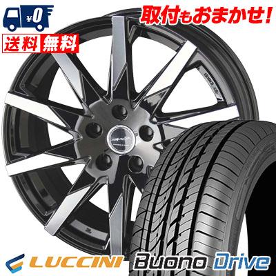 205/55R16 91V LUCCINI ルッチーニ Buono Drive ヴォーノ ドライヴ SMACK SFIDA スマック スフィーダ サマータイヤホイール4本セット