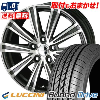 205/65R16 95H LUCCINI ルッチーニ Buono Drive ヴォーノ ドライヴ SMACK SPARROW スマック スパロー サマータイヤホイール4本セット