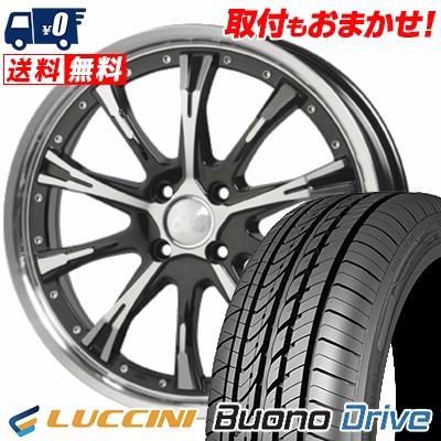 205/50R16 87V LUCCINI ルッチーニ Buono Drive ヴォーノ ドライヴ Cliff Climb TC-02 クリフクライム TC02 サマータイヤホイール4本セット