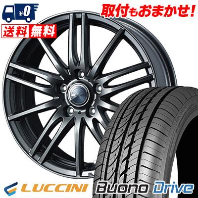 215/65R15 100H XL LUCCINI ルッチーニ Buono Drive ヴォーノ ドライヴ Zamik Tito ザミック ティート サマータイヤホイール4本セット