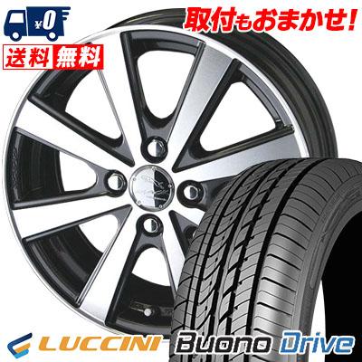 205/50R16 87V LUCCINI ルッチーニ Buono Drive ヴォーノ ドライヴ SMACK VIR スマック VI-R サマータイヤホイール4本セット
