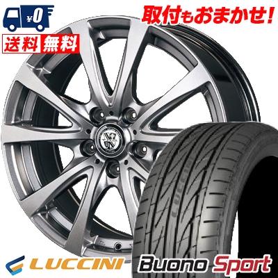 215/50R17 95W XL LUCCINI ルッチーニ Buono Sport ヴォーノ スポーツ TRG-BAHN TRG バーン サマータイヤホイール4本セット