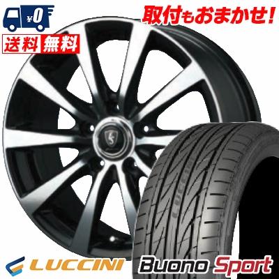 215/55R16 97V XL LUCCINI ルッチーニ Buono Sport ヴォーノ スポーツ EUROSPEED BL10 ユーロスピード BL10 サマータイヤホイール4本セット