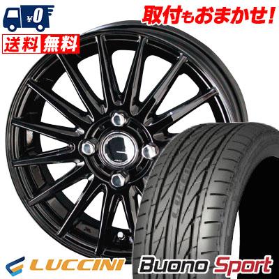 195/45R16 84V XL LUCCINI ルッチーニ Buono Sport ヴォーノ スポーツ CIRCLAR VERSION DF サーキュラー バージョン DF サマータイヤホイール4本セット