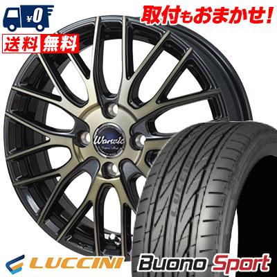 195/45R16 LUCCINI ルッチーニ Buono Sport ヴォーノ スポーツ Warwic Empress Mesh ワーウィック エンプレスメッシュ サマータイヤホイール4本セット
